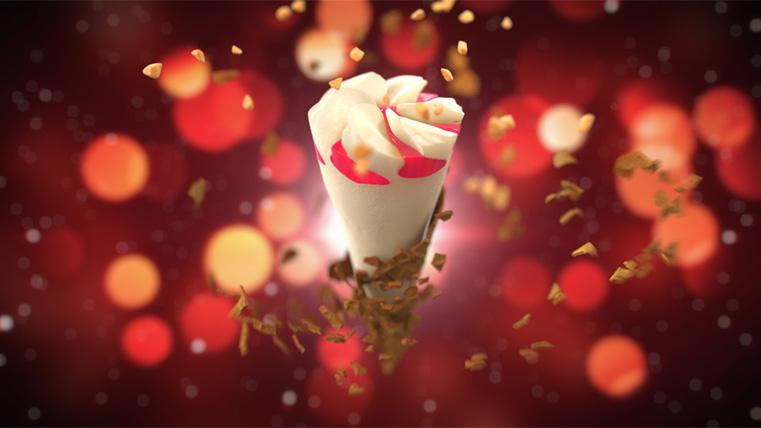 3D ice cream explode