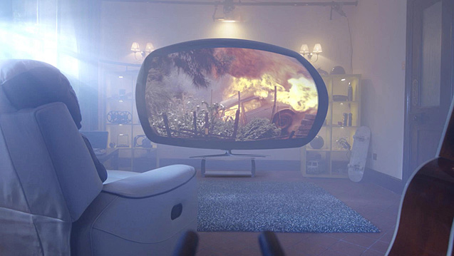 TV Channel 3D VFX