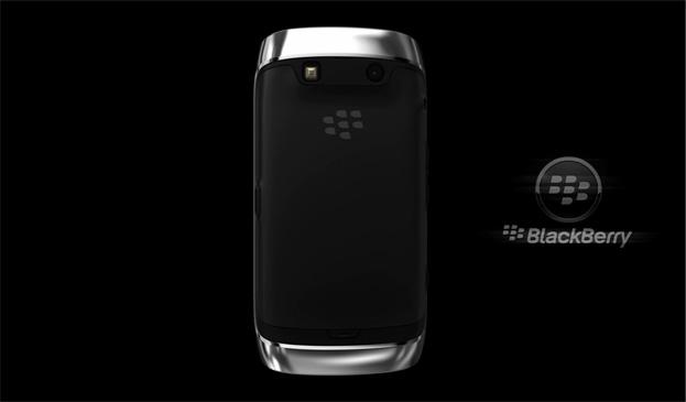 Blackberry 3D animation