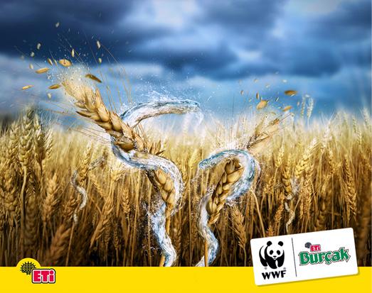ETI Burcak WWF Advertising Poster