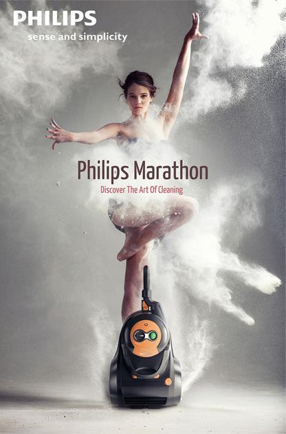 Philips Marathon Poster