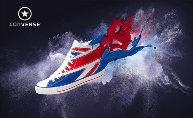 Converse Shoe Poster Design