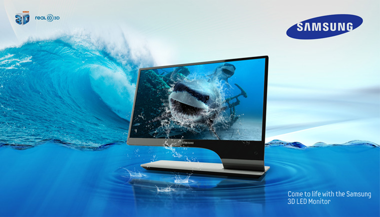 Samsung Product Wave Poster