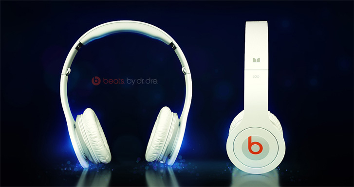 Beats by Dr Dre 3D Headset Poster