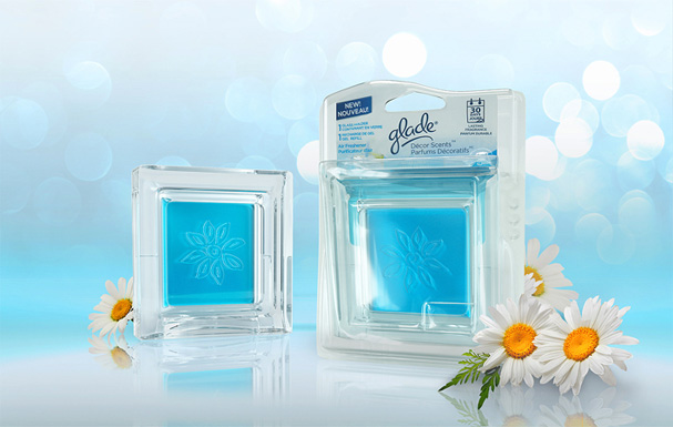 Glade Fresh 3D Poster