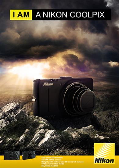 Nikon 3D Camera P310 Poster