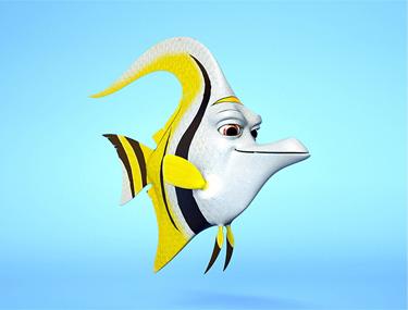 3D Cartoon Fish