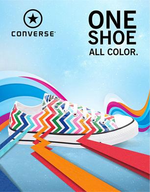 Converse Shoe CGI Poster