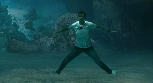 Underwater Green Screen Compositing