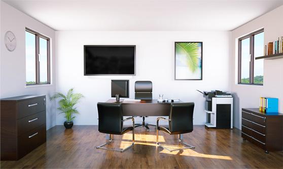 3D Business Interior