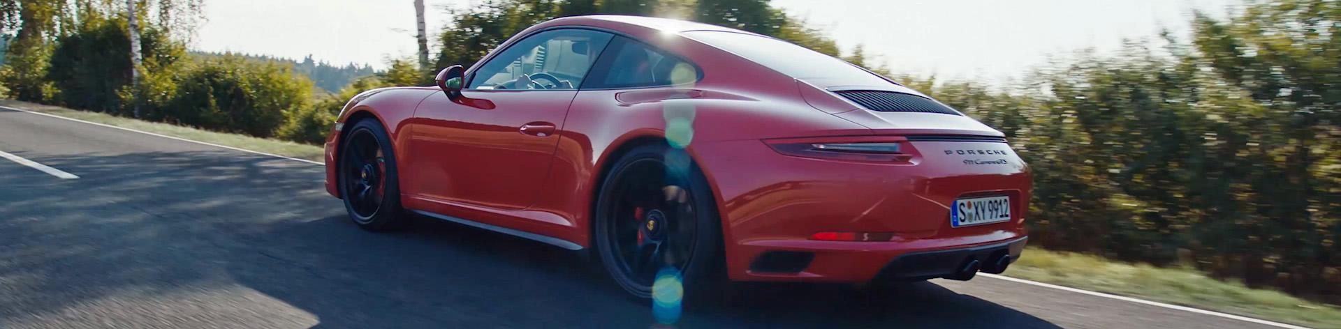 Porsche Video VFX