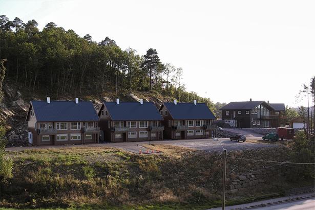 Houses 3D Rendering
