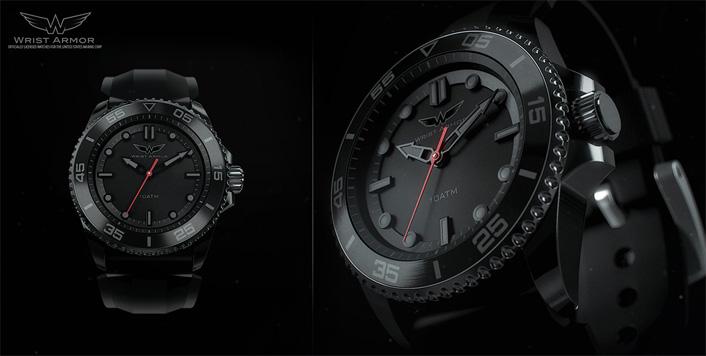 Wrist Armor 3D Watch