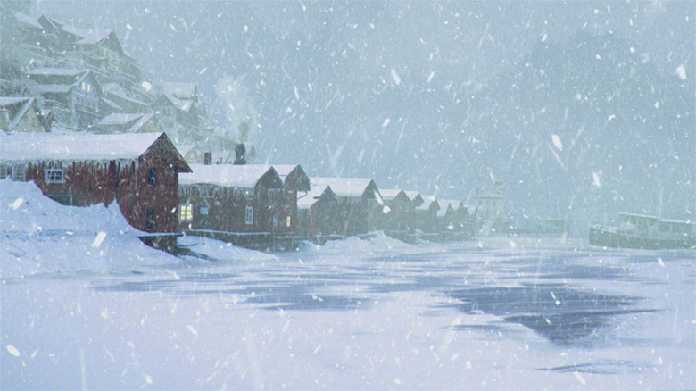 Winter Island 3D VFX and Composition