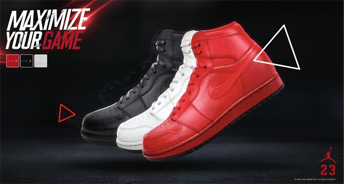 Nike AirJordan Poster